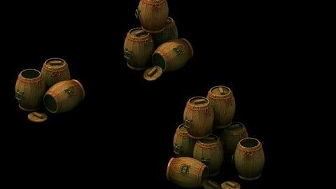 Game Model - Bucket Barrel Cask