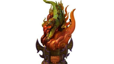 Game Model - Object Design - Fuhu - Furnace 02