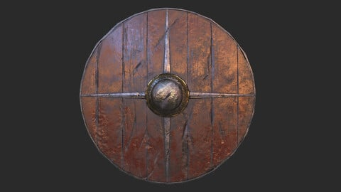 Viking historical shield