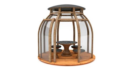 garden glass bell camellia