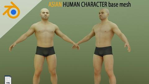 Asian Man – 3D CHARACTER