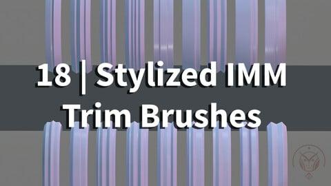 Trim IMM brushes | Zbrush