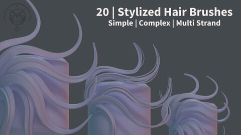 Stylized Hair IMM Brushes