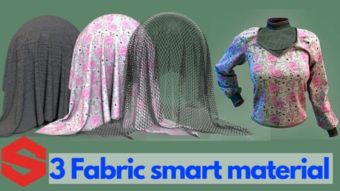 3 Fabric smart material : Elegant long-sleeved women's shirt