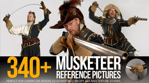340+ Musketeer Reference Pictures