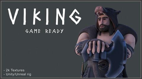 Viking - stylized 3d model