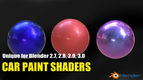 Car Paint Shaders