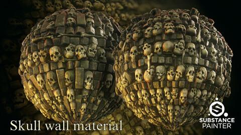 2 Skull wall material