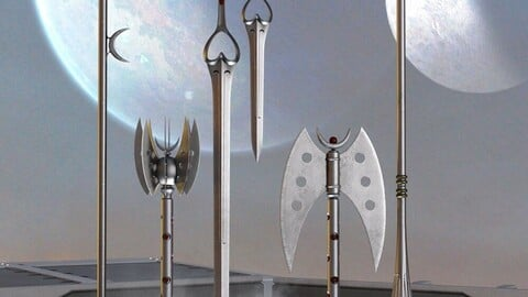 Celestial Moon Weapons