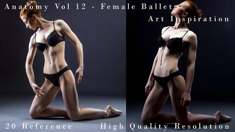 Anatomy Vol 12 - FeMale Ballet - Art Inspiration