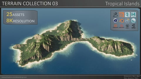 Terrain Collection 03 - Tropical Islands