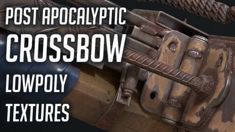 Post Apocalyptic Crossbow - Game Res
