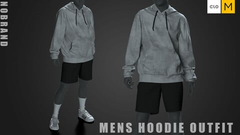 Mens - Hoodie Outfit