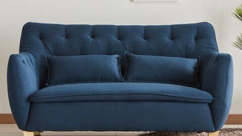 Rumi 2-seat waterproof fabric sofa