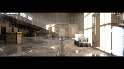Military Training Warehouse - Unreal Engine 4