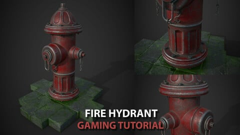 Fire Hydrant Gaming Pipeline Tutorial + Asset