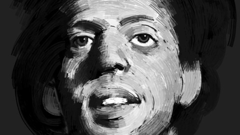 Philip Glass fan art