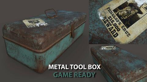 Metal Tool Box Game Ready