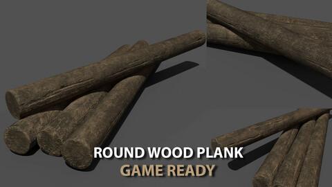 Round Wood Plank
