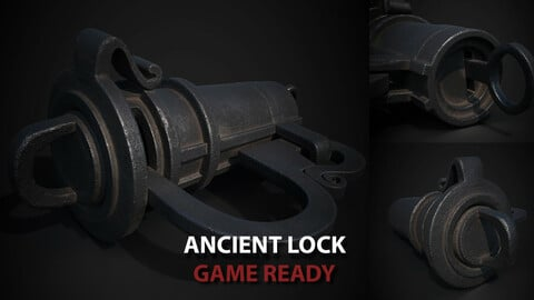 Vintage Ancient Lock