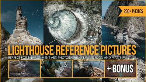 230+ Lighthouse Reference Pictures