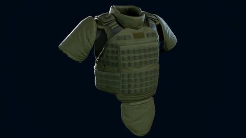 Heavy armor vest
