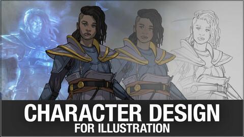 Character design for Illustration