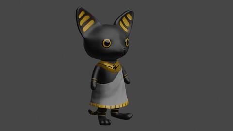 Cute Basted Character NPC
