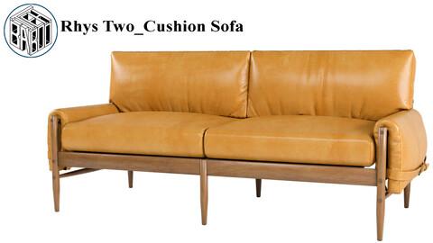 Rhys Two_Cushion Sofa