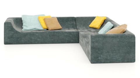 corner sofa, sectional sofa