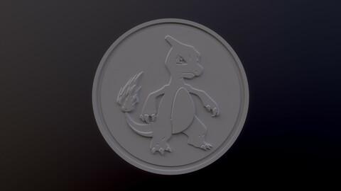 Charmeleon 3D printable model - Pokémon collectibles