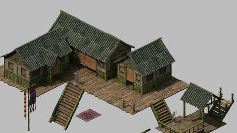 Tongtianhe - Building - Bamboo House