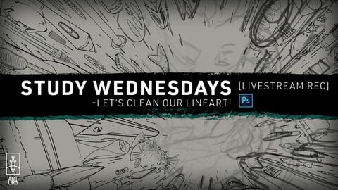APR-21 LiveStream: Let's Work on Lineart! - with art.uro