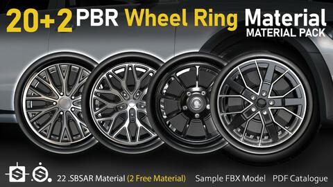 20+2 PBR Wheel Ring Material