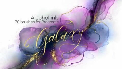 Galaxy procreate brush