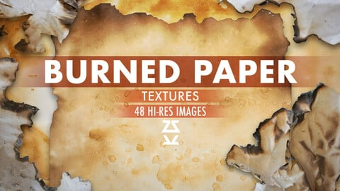 Burned Paper Textures