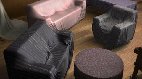 Cloth Sofa Sets