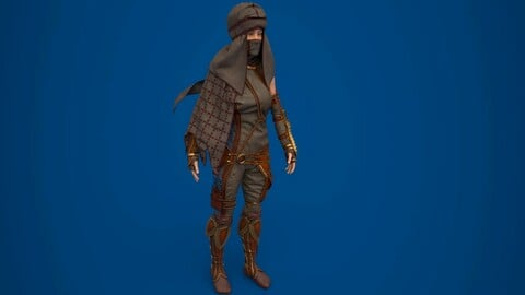 Assassin's outfit with bandana
