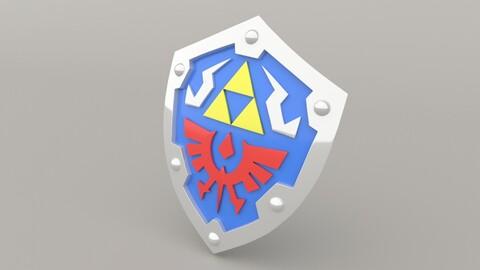 Hylian Shield - Legend of Zelda 3D Print Model