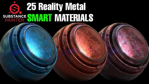 25 Reality Metal Smart Material Pack