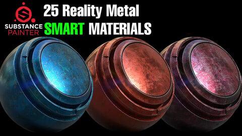 25 Reality Metal Smart Material Pack