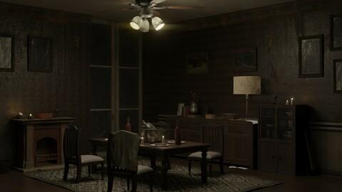 Horror Room Asset
