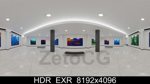 HDRI - Art Museum Gallery Interior 3