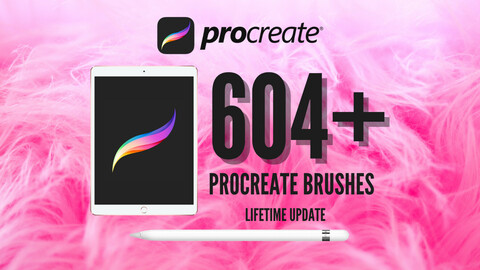 604+ Procreate Brushes, Tattoo, Forest, Portrait, Hair, Eyebrow, Eyelash, Lashes, Makeup, Fur, Stamp and more! Entire Shop