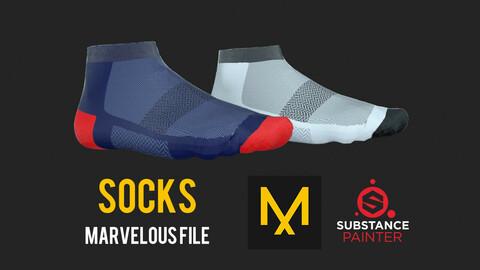 Low Socks Model + Textures