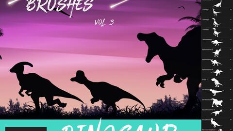 30 Dinosaur Brushes for Procreate Vol 3