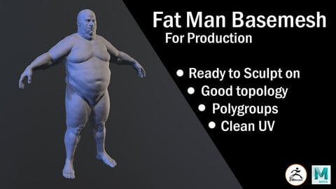 Fat Man Basemesh for production