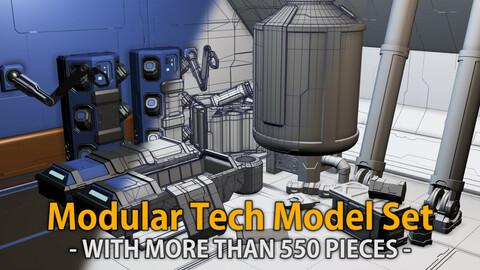 Modular Tech Model Set