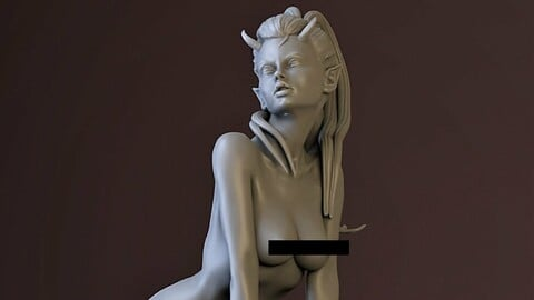 Succubus STL for 3d printing