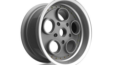 Autostrada Monza Custom wheel 3D model